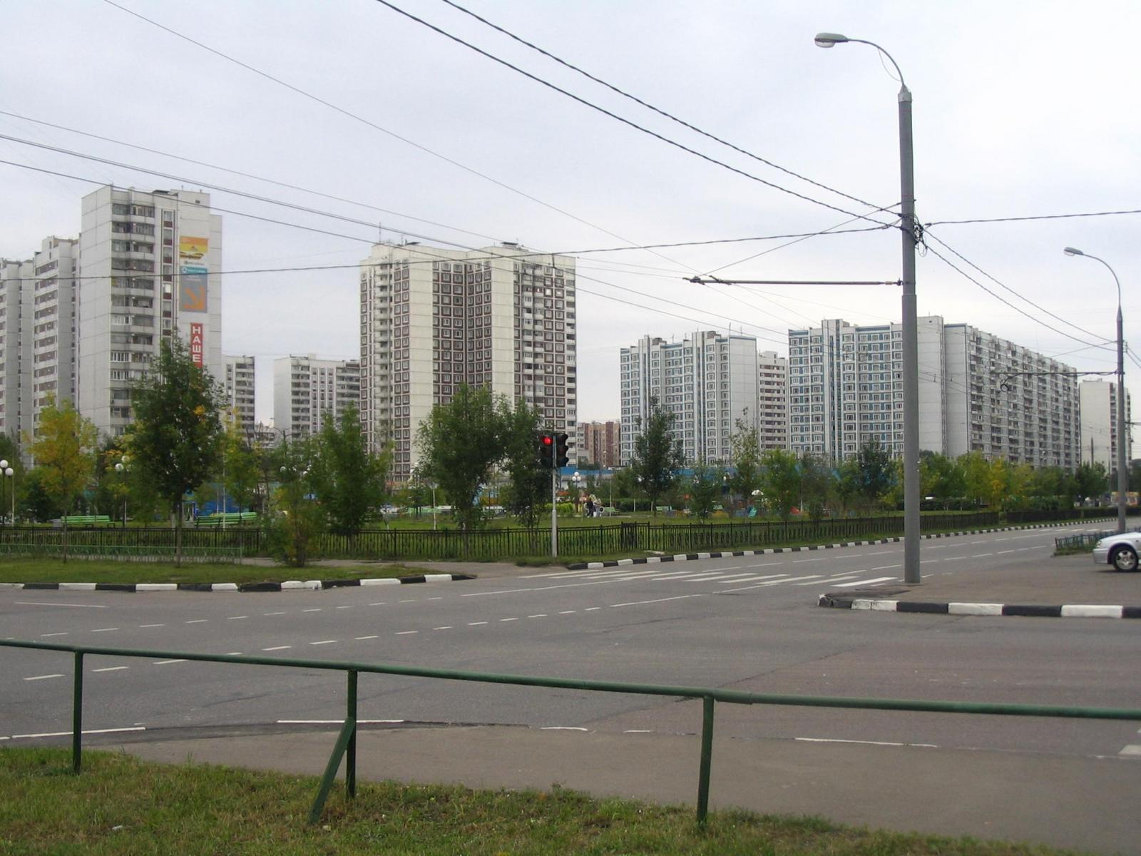 Сквер городецкой улицы в Новокосино.JPG
