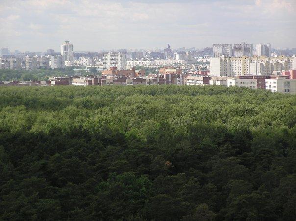 Юго-Запад в сторону Москвы