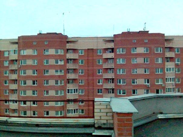 Вид с крыши 4 дома