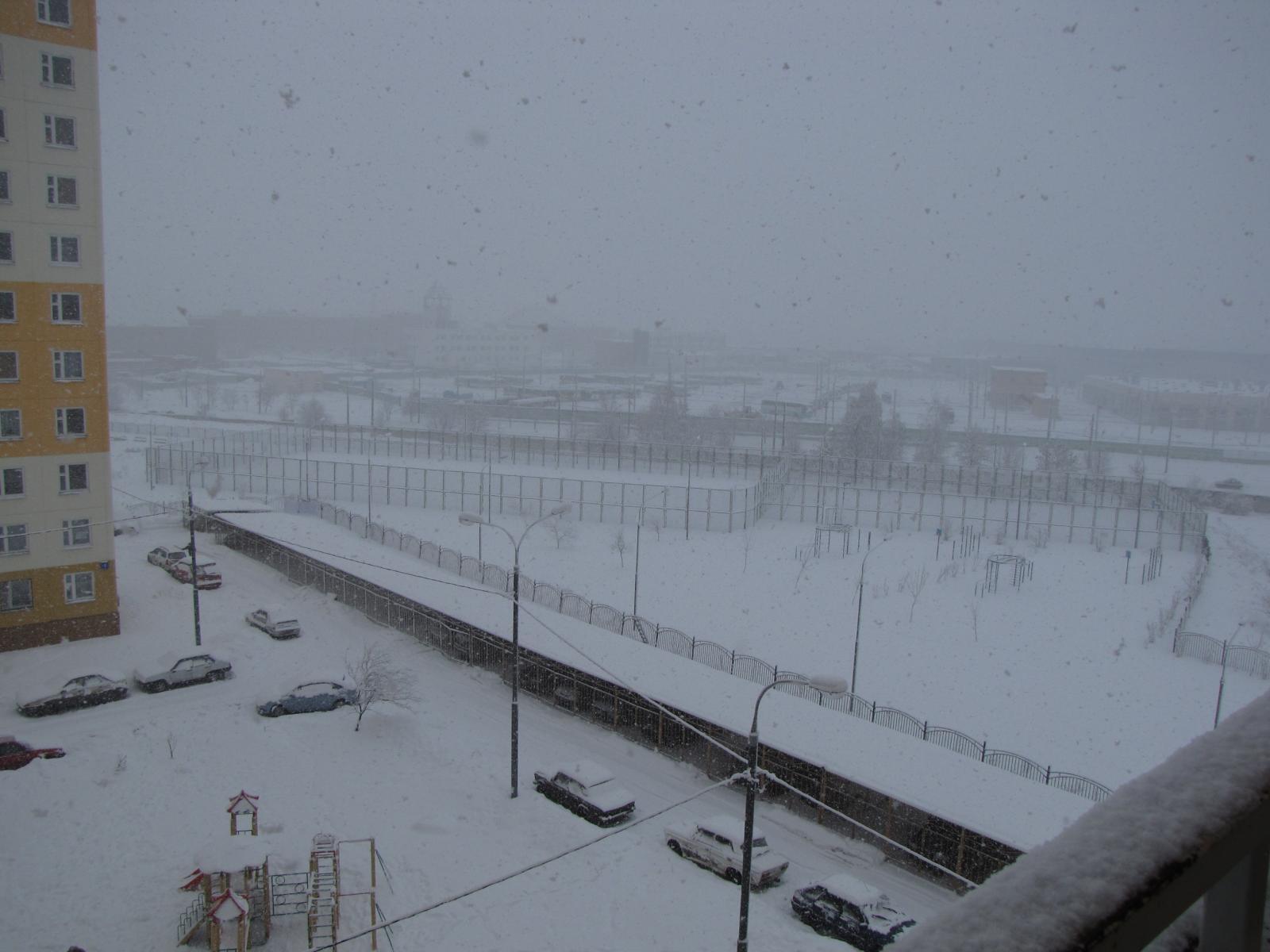 А снег кружился, кружился и падал...2